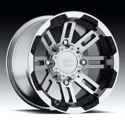 Felga Vision Wheel Warrior 4 - 375 Gloss Black Machined Face 14x8 2+6 4/110