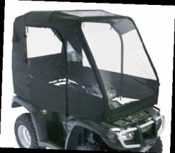 DELUXE CAB ENCLOSURE BLACK