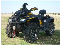 Snorkle do Can-Am Outlander 800 XMR