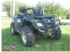 Snorkle do Can Am Outlander 400