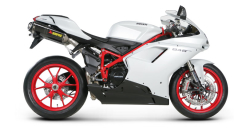 Tłumik Akrapovic DUCATI 848 EVO Slip-On Open