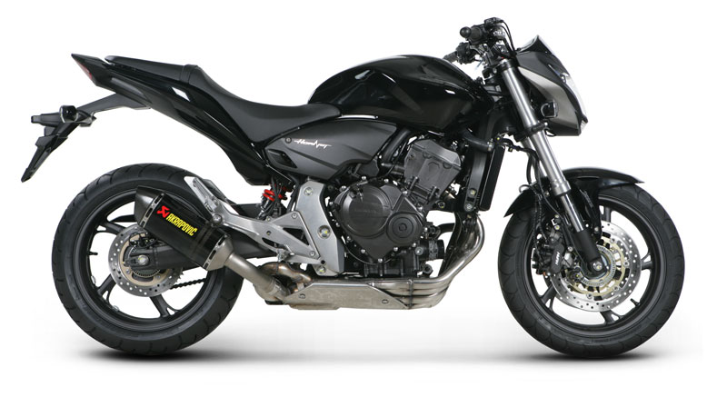 t umik akrapovic honda cb 600 hornet slip on ec. Black Bedroom Furniture Sets. Home Design Ideas