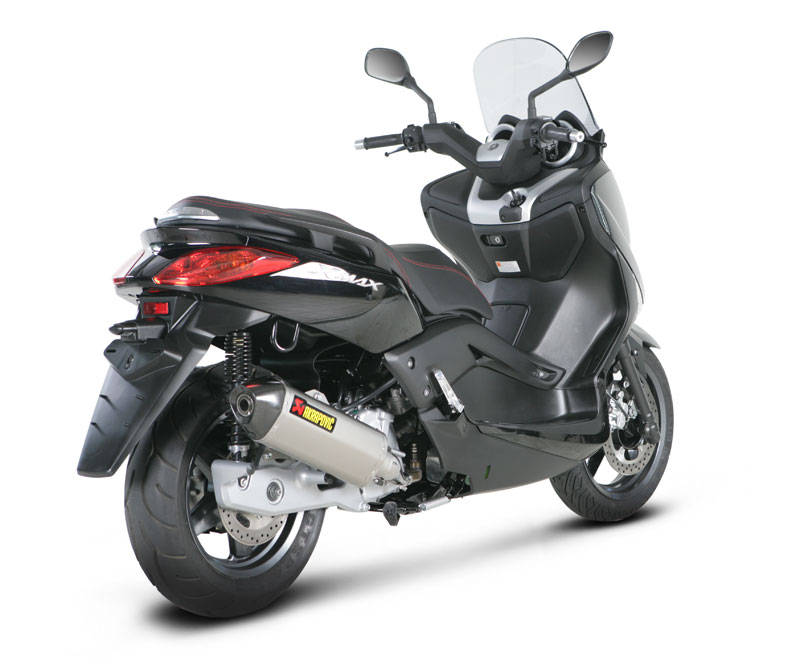 t umik akrapovic yamaha x max 125 slip on ec. Black Bedroom Furniture Sets. Home Design Ideas