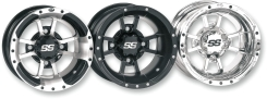 Felga ITP SS112 SPORT MATTE BLACK FINISH 9x8 BOLT PATTERN 4/110 OFFSET 3+5